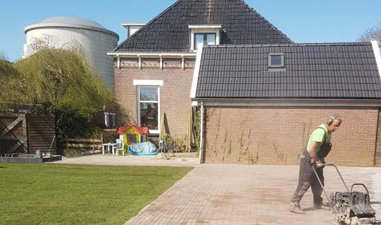 Tuinaanleg, Stratenmaker Groningen, Bestratingen, Bestratingsbedrijf, Huisma Bestratingen, Tuininrichting, Complete tuininrichting, terras aanleggen, graszoden leggen